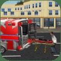 911 Emergency Rescue Ambulance Icon