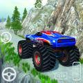 Offroad Monster Hill Truck Icon