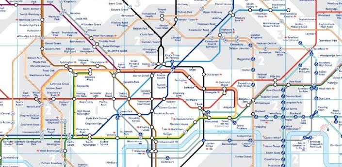 London Tube Map apk