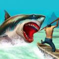 Wild animals - shark hunting Icon