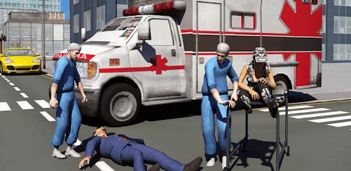 Ambulance Driver 3d Parking apk