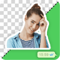 My Face Sticker: Custom WhatsApp Sticker Maker Icon