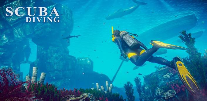 Scuba Diving Simulator - Underwater Survival Games apk
