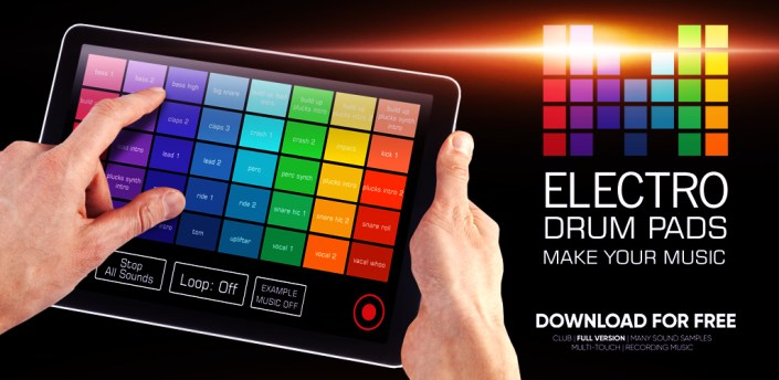 Electro Drum Pads loops DJ Music Creation apk