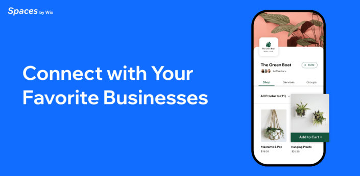 Spaces: Connect with Your Favourite Business apk