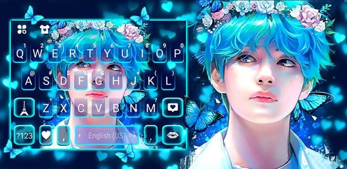 KPop Pretty Boy Keyboard Background apk
