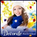Decorate Photo Live Wallpaper Icon