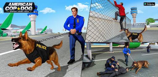 US Police Dog Simulator : Airport Crime Chase apk