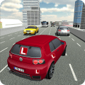 Learning Test Driving School Icon