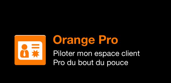 Orange Pro, espace client pro apk