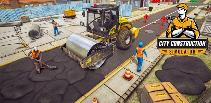 City Construction Excavator: House Building Game apk