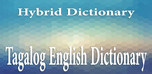 Tagalog English Dictionary - tagalog sa ingles apk