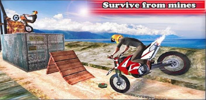 Super 3D Bike Stunt Bike Racing Game apk