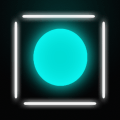 Glow Ball : Bouncy wall Icon