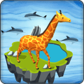 Idle Zoo 3D: Animal Park Tycoon Icon