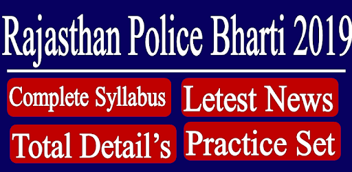 Rajasthan Police Constable Exam App 2020 apk