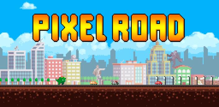 Pixel Road Wallpaper DONATE apk