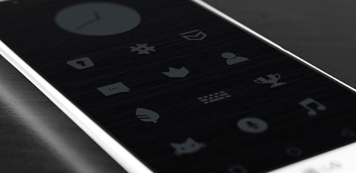 Murdered Out - Black Icon Pack (Free Version) apk
