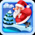 Santa Christmas Jump Icon