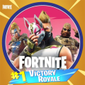 Fortnite Battle Royale Stickers Icon