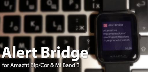 Alert Bridge for Amazfit Bip/Cor & Mi Band 3/4 apk