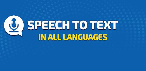 Speech To Text Converter - Voice Typing App apk