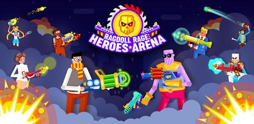 Ragdoll Rage: Heroes Arena apk