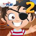 Pirate Kids 2nd Grade Games Icon