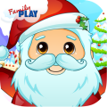 Santa Preschool Math Games Icon