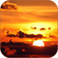Sunset Clouds Live Wallpaper Icon