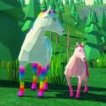 Magic Horse Simulator - Wild Horse Adventure Icon