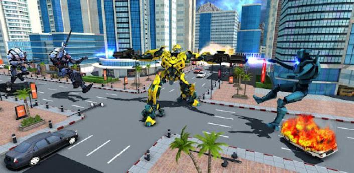 Air Robot Plane Transformation Game 2020 apk