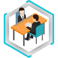 Initial Test Interviewer Icon