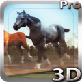 Horses 3D Live Wallpaper Icon