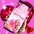 Love Hearts Live Wallpaper ❤️ Couple 3D Wallpaper Icon