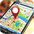 GPS Direction Tracker and Maps Icon