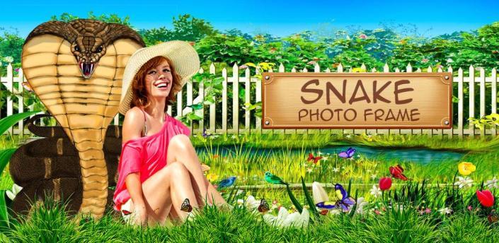 Snake Dual Photo Frames apk