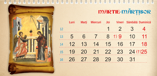 Calendar Creştin Ortodox 2021 apk