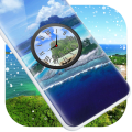 Island Clock Live Wallpaper Icon