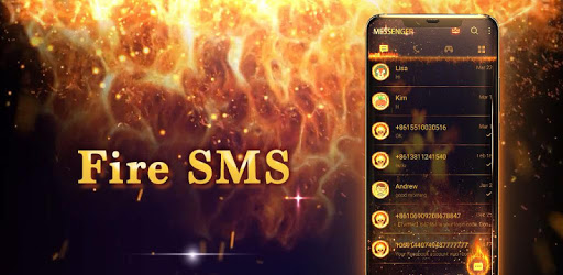 Fire Messenger for SMS - Default SMS&Phone handler apk