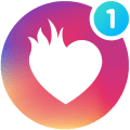 Waplog - Free Chat, Dating App, Meet Singles Icon