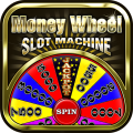 Money Wheel Slot Machine Game Icon