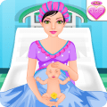 Pregnant Mommy Baby Care Games Icon