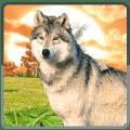 Wild Wolf Simulator: Real Hunt Icon