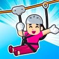 Zipline Rescue Adventure - Sky Rope Puzzle Icon