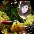Wine Glass Photo Frames Icon