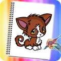 How to Draw Chibi Anime Cats Icon