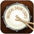 Musical Drum Loops Icon