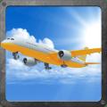 A-plane flight simulator 3D Icon