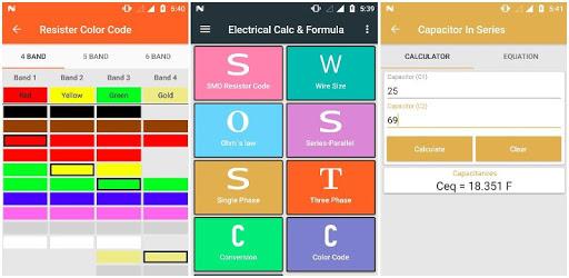 Electrical Calculator and Formula apk
